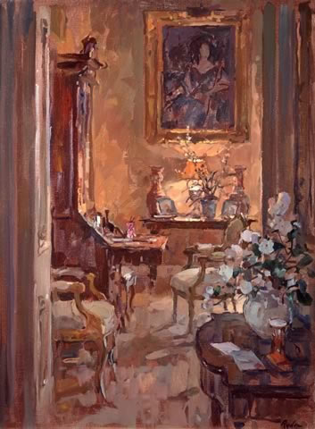 Susan Ryder Rp Neac Artist And Painter Interiors And