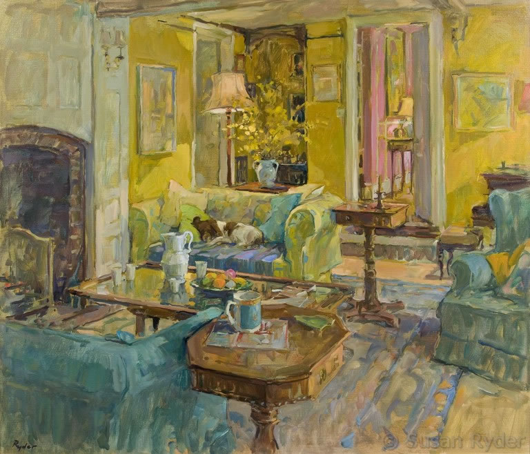 susan ryder rp neac artist and painter interiors and. Black Bedroom Furniture Sets. Home Design Ideas
