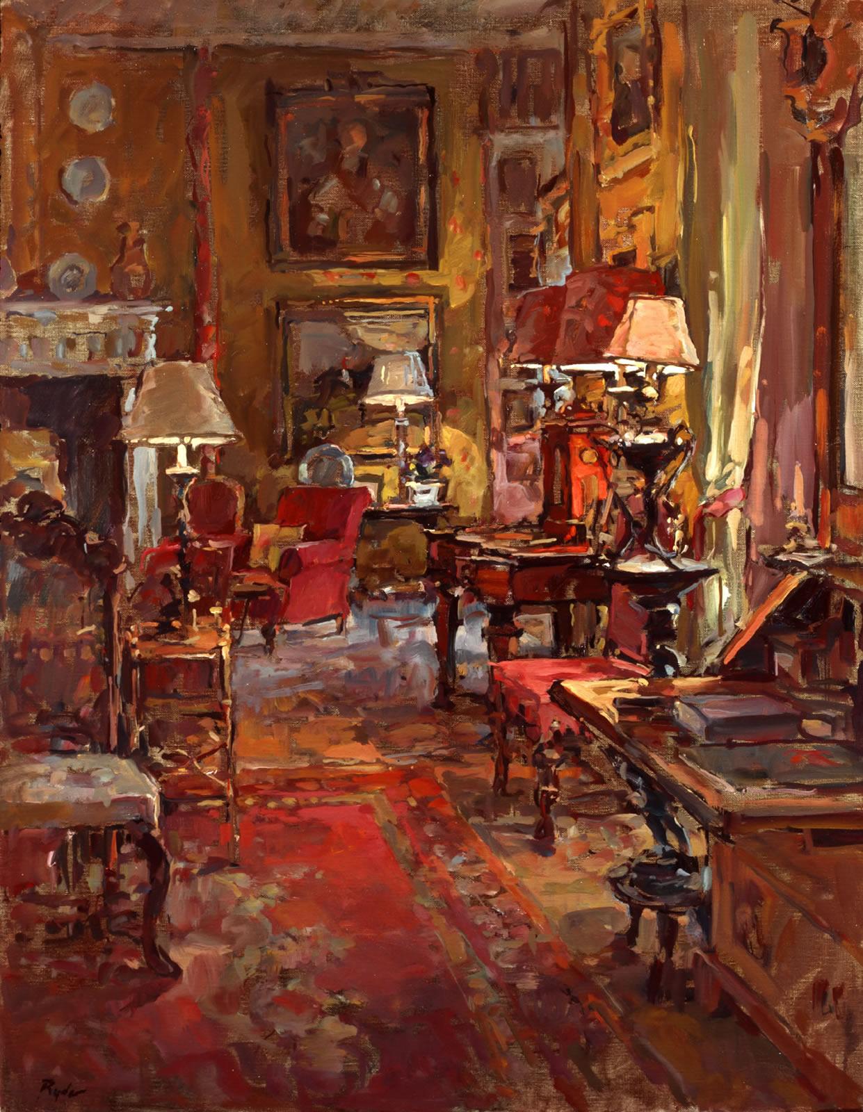 Susan Ryder Rp Neac Artist And Painter Interiors And Exteriors